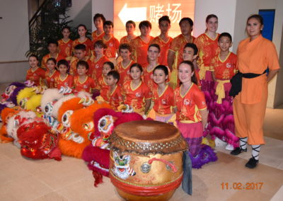 CADCAI Lion Dance Team 2017